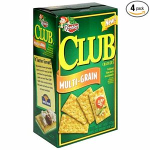 Club Crackers, Multi-Grain, 15-Ounce Boxes (Pack of 4)