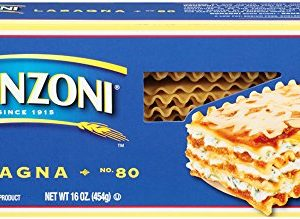 Ronzoni Lasagna, 16-Ounce (Pack of 6)