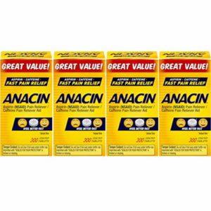Anacin Tablets 300 Tablets (Pack of 4)