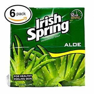Irish Spring Soap Moisture Blast, 90 Grams / 3.2 Oz Each - 12 Bars