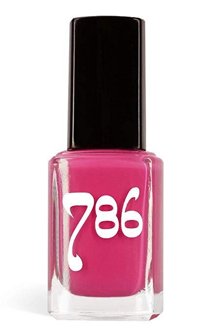 786 Cosmetics Hyderabad – (Pink) Vegan Nail Polish, Cruelty-Free, 11-Free, Halal Nail Polish, Fast-Drying Nail Polish, Best Pink Nail Polish