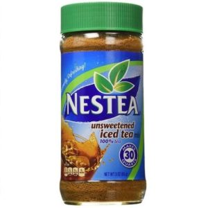 Nestea, 100% Instant Tea, Unsweetened, 3-Ounce Containers (Pack of 3)
