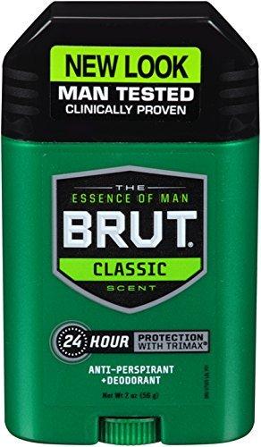 Brut Antiperspirant Solid Oval 57g by Brut