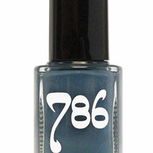 786 Cosmetics Chefchaouen - (Blue) Vegan Nail Polish, Cruelty-Free, 11-Free, Halal Nail Polish, Fast-Drying Nail Polish, Best Blue Nail Polish