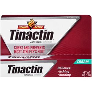 Tinactin Antifungal Cream for Athlete's Foot, 1-Ounce Tube