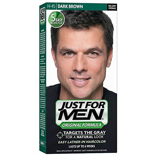 Just For Men Original Formula Men's Hair Color, Dark Brown (Pack of 2)