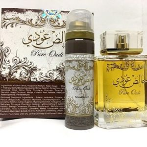 Khalis Oudi (Pure Arabian Oudi) With Deo Floral Musky Vanilla Eau de Parfum by Lattafa 100ml by Khalis Oudi