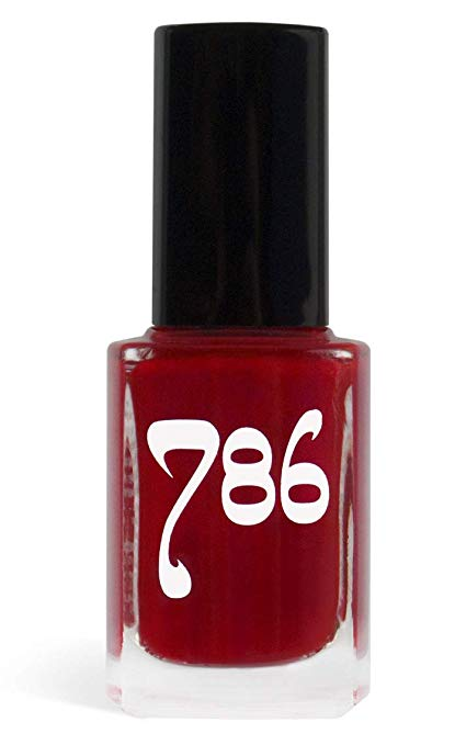 786 Cosmetics Agra - (Red) Vegan Nail Polish, Cruelty-Free, 11-Free, Halal Nail Polish, Fast-Drying Nail Polish, Best Red Nail Polish