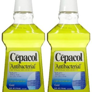 Cepacol Antibacterial Mouthwash and Gargle Gold 24 oz. (Pack of 6)