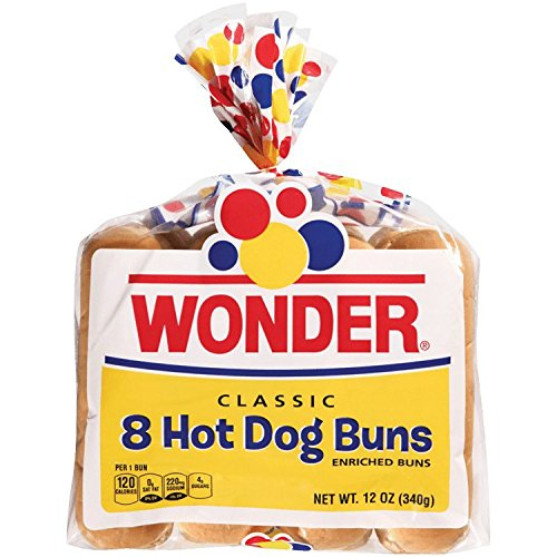 WONDER BREAD CLASSIC HOT DOG BUNS 8 CT