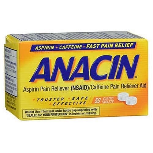 Anacin Tablets 50s Size 50s Anacin Tablets 50ct