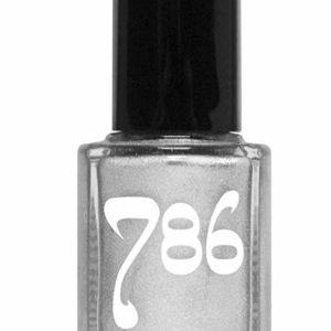 786 Cosmetics Brunei - (Silver) Vegan Nail Polish, Cruelty-Free, 11-Free, Halal Nail Polish, Fast-Drying Nail Polish, Best Silver Nail Polish