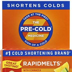 Zicam Cold Remedy Rapidmelts, Lemon-Lime with Echinacea, 25 Quick-Dissolve Tablets