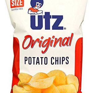 Utz Potato Chips, Regular, Regular, 9.5 oz Bag