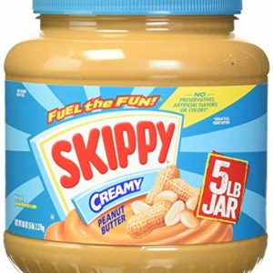 SKIPPY Creamy Peanut Butter, 5 lb   Gluten-Free, Kosher, and Made with Four Simple Ingredients