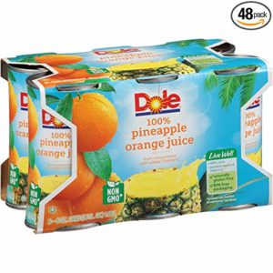 Dole Juice, Pineapple Orange, 6 Ounce (Pack of 48)