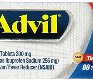 Advil Film-Coated Pain Relief Ibuprofen Tablets, 480 Count,Advil-fj