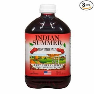 Indian Summer 100% Juice, Montmorency Cherry, 46 Ounce (Pack of 8)
