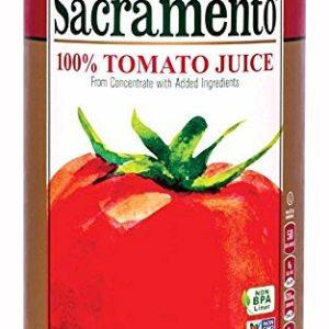 Sacramento Tomato Juice, 46oz Can (Pack of 12)