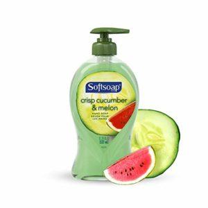 Softsoap Liquid Hand Soap, Crisp Cucumber and Melon - 11.25 fluid ounce (6 Pack)
