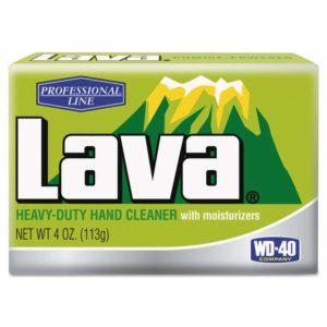 Lava 10383 Hand Soap, Unscented Bar, 4oz, 48/carton
