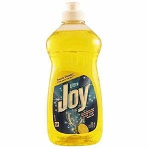 Joy Ultra Dishwashing Liquid Lemon, 1 Count (DISH WASHING LIQUID)