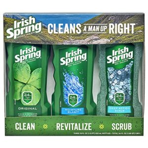 Irish Spring Body Wash Variety Pack, 18 Ounce, 3 Count