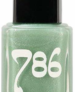 786 Cosmetics Fez - (Mint Green) Vegan Nail Polish, Cruelty-Free, 11-Free, Halal Nail Polish, Fast-Drying Nail Polish, Best Mint Green Nail Polish