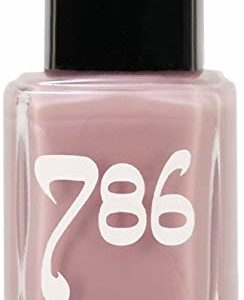 786 Cosmetics Kashmir - (Purple) Vegan Nail Polish, Cruelty-Free, 11-Free, Halal Nail Polish, Fast-Drying Nail Polish, Best Purple Nail Polish, Perfect Nude