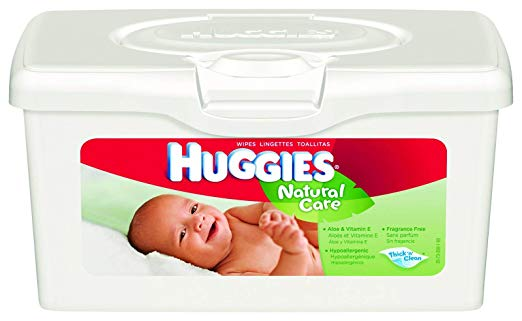 Wipe, Wet Baby Huggies NAT Care Nscntd