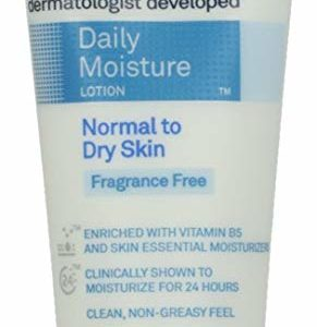 Lubriderm Daily Moisture Lotion Fragrance Free 3 oz (Pack of 4)