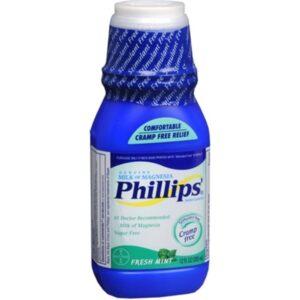 Phillips' Fresh Mint Milk of Magnesia Liquid, 2 Count