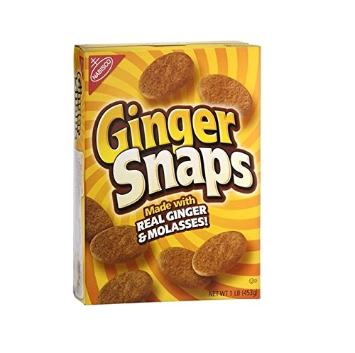 Nabisco Old Fashioned Ginger Cookies-16 oz (453 g)