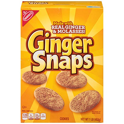 Ginger Snaps Cookies, 16 Ounce