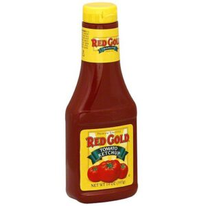 Red Gold Tomato Ketchup, Squeeze Bottle (Pack of 2)