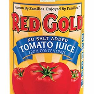 Red Gold No Salt Added Tomato Juice From Concentrate