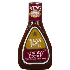 Ken's Steak House Country French Salad Dressing 16 Ounce (Pkg of 3)