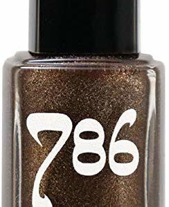 786 Cosmetics Cairo - (Sparkle Brown) Vegan Nail Polish, Cruelty-Free, 11-Free, Halal Nail Polish, Fast-Drying Nail Polish, Best Brown Nail Polish