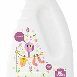 Babyganics 3X Baby Laundry Detergent, Lavender, 60 Fluid Ounce