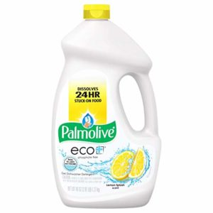 Palmolive Eco Gel Dishwasher Detergent, Lemon Splash - 45 Ounce (3 Pack)