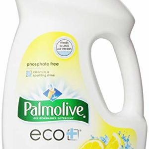Palmolive Eco Gel Dishwasher Detergent, Lemon Splash - 45 Fluid Ounce (9 Pack)