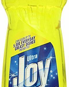 oy Ultra Dishwashing Liquid, Lemon Scent, Yellow, 30 Ounce (Pack of 5)