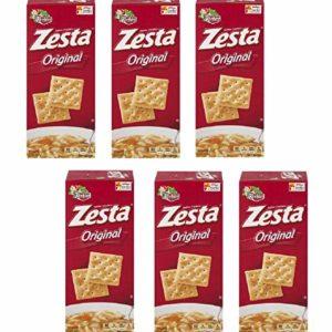 Zesta Saltine Crackers, Original, 16 oz (Pack 6)