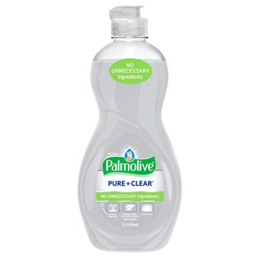 Palmolive Ultra Dish Liquid, Pure and Clear, 10 Ounce