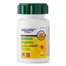Walgreens Aspirin Low Dose Enteric Coated Tablets 81 mg, 500 ea