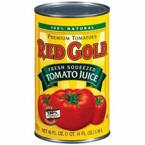 Red Gold Tomato Juice +C 46 OZ (Pack of 12)
