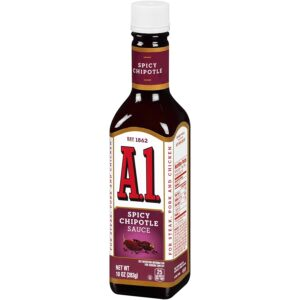 A1 Spicy Chipotle Meat Sauce 10 oz Bottle