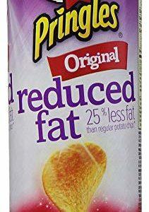 Pringles Original Reduced Fat Potato Crisps, 4.9 Ounce -- 14 per case.