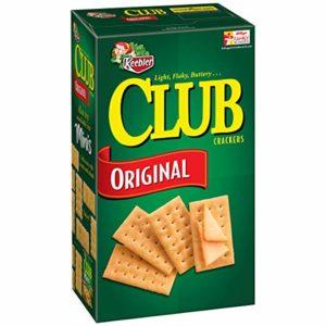 Keebler, Club Original Crackers, 13.7 OZ