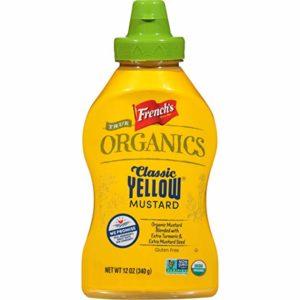 French's True Organics Classic Yellow Mustard (Organic Yellow Mustard, Non GMO), 12 oz